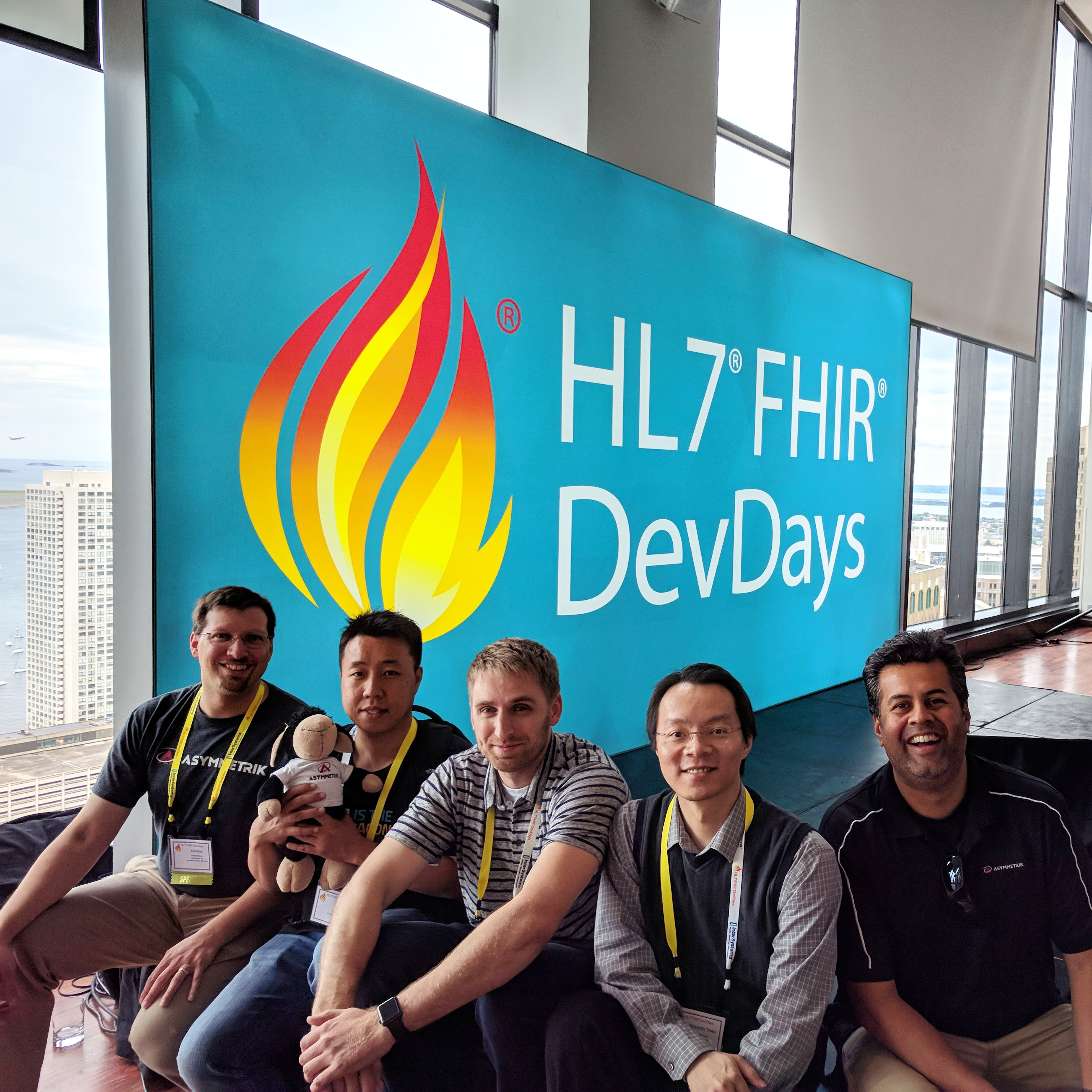 Asymmetrik team FHIR DevDays